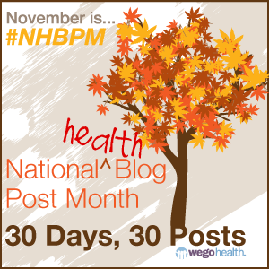 Second post for the National Health Blog Post Month with WeGo
